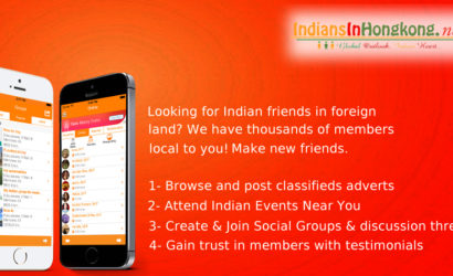 IndiansInHK – #1 Live Chat Events Free Classifieds