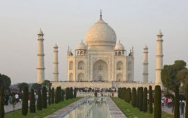 Taj Mahal left out of an Indian tourism booklet